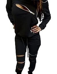 Amazon.com: Black - Pantsuits / Suit Sets: Clothing, Shoes & Jewelry
