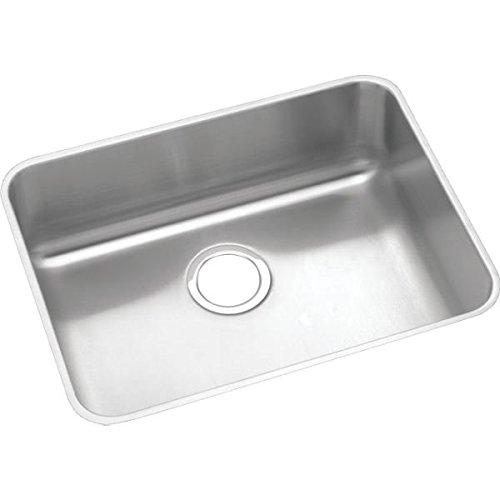 (Elkay Lustertone ELUHAD211545 Single Bowl Undermount Stainless Steel ADA Sink)