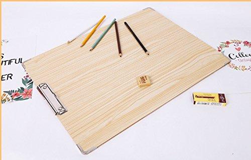 Idea2go Drawing Board Art Board Solid Wood Sketch Board -for Classroom, Studio or Field Use (15''x20'') by Idea2go