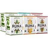 RUNA Amazon Guayusa Variety Pack Tea Boxes, 96 Count