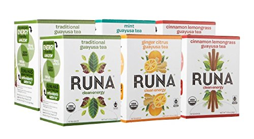 RUNA Amazon Guayusa Variety Pack Tea Boxes 96 Count Discount