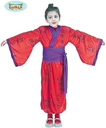 Disfrazo.com Disfraz Japonesa Talla 7-9 AÑOS - 7-9 Años: Amazon.es ...