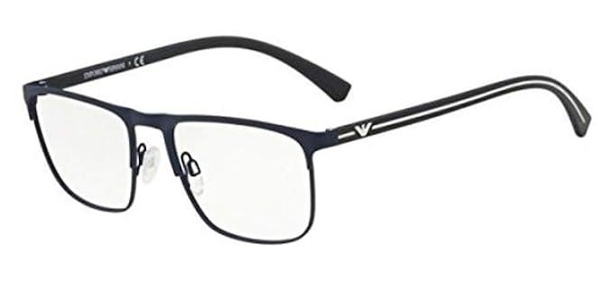 1c9cb9d89b7 Emporio Armani EA 1079 Blue 55 18 140 Men Eyewear Frame at Amazon ...