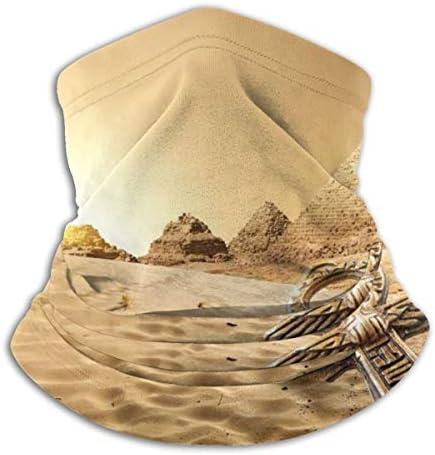 Bedouin On Camel ネックカバー 丸洗い可能 バンダナ 冷感 夏 フェイスガード 多機能 日よけ サイクリングカバー