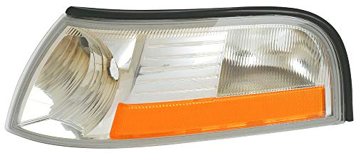 For 2003 2004 2005 Mercury Grand Marquis Turn Signal Corner Light lamp Assembly Driver Left Side Replacement - Lamp Cornering Assembly
