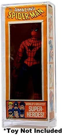 Mego World/'s Greatest Super Heroes Carded Acrylic Display Case