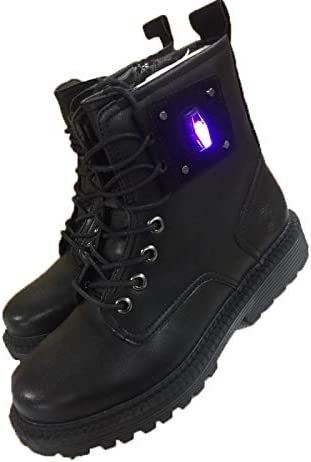 Womens Heating Boots USB Heated Men Unisex Lace Up Zipper Work Boots Leisure Shoes Soft Rubber Sole Cow Leather Old Young Comfortable Casual Shoes