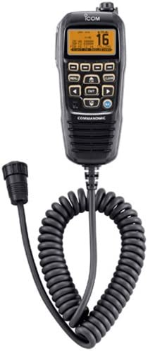 ICOM COMMANDMIC IV WITH WHITE BACKLIT LCD IN SUPER
