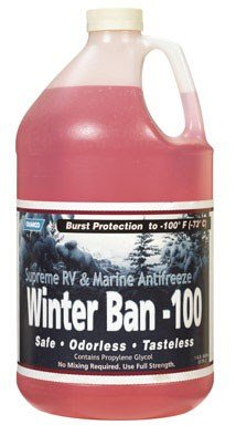 Camco Winter Ban-100 Rv & Marine Anti-Freeze -100 Deg. Propylene -
