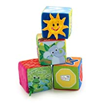 Baby Einstein Explore and Discover Soft Block Toys