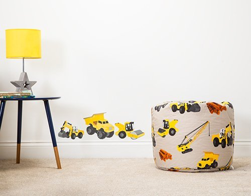 Ready Steady Bed Diggers Design Children's Bean Bag