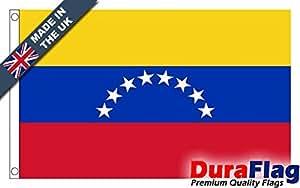 """duraflag® Venezuela 8estrellas bandera de calidad profesional (puerta y Cambiadas), 18"""" x 12"""""""