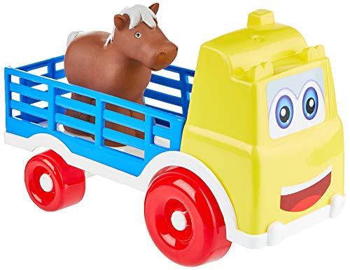 Caminhão Gradinha, Tilin Brinquedos, Cores Diversas, Pequeno