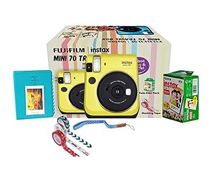Fujifilm Instax Mini 70 Travel Box Combo Offer (Yellow