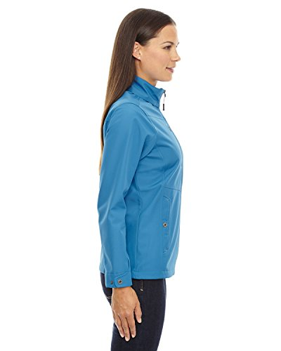 North Ladies Soft Travel Bonded Ash '3 Giacche Light layer 488 Orecast Shell End Blue qrTpEr