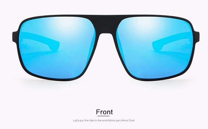 80c890c054 WSKPE Gafas De Sol Los Hombres Clásico Diseño De Moda Gafas De Sol  Polarizadas Gafas De Sol Plaza De Conducción Tonos De Revestimiento Uv400(Gafas  De Marco ...