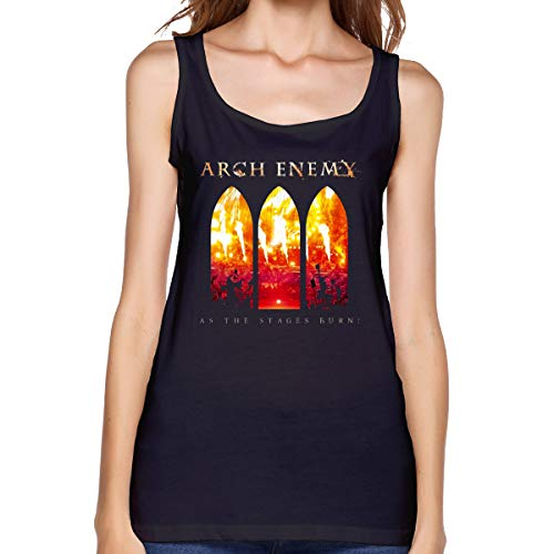 Womans Arch Enemy As The Stages Burn! Sexy Comfort Tank Top Shirt M Black