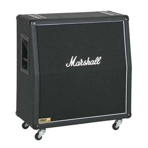 Marshall 1960 300W 4x12 Guitar Extension Cabinet 1960A Angled by Marshall