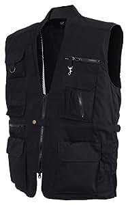 Plainclothes Concealed Carry Vest-Black-XX-Large