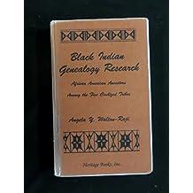 Black Indian Genealogy Research