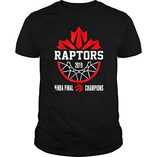Toronto Canada T-Shirt Raptors Tribute Canadian Flag Tee 2019 Champions (Unisex T-Shirt;Black;L)