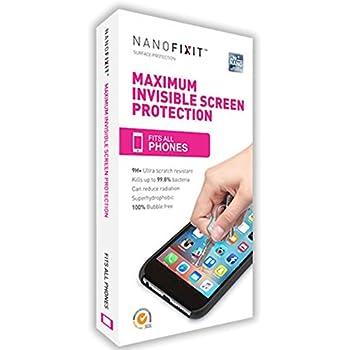 a0b39a2bb89 Protector de Pantalla Liquido NANOFIXIT One Dureza 9H para cualquier Celular