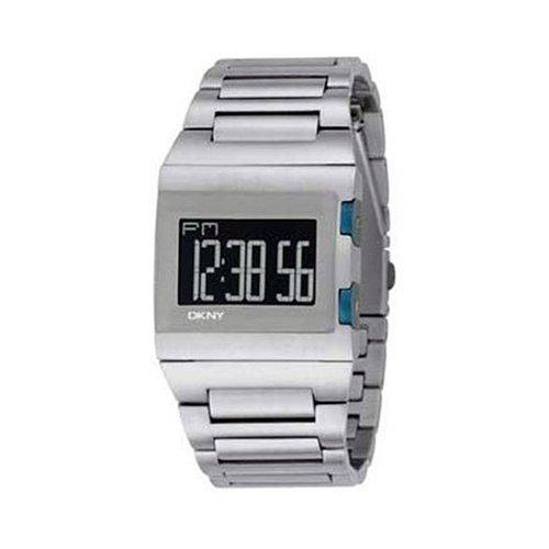 DKNY NY1305 - Reloj digital reloj, caso y pulsera de acero inoxidable: Amazon.es: Relojes
