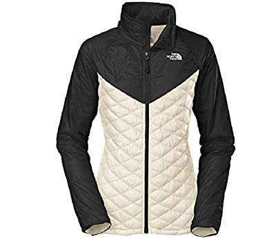 The North Face Women's Thermoball Remix Jacket XSMALL GARDENIA WH/TNF BL