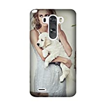 LG G3 Case, [Drop Protection] Scratch Resistant Perfect-Fit Shock Absorbing Non-Slip girl clothes dogs puppies Armor Case Design By [Alex Alina]