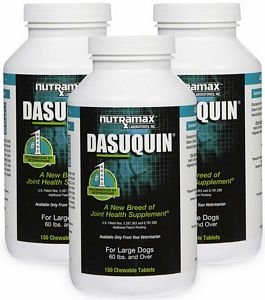 3PACK Dasuquin for Large Dogs (450 Chewable Tabs) by Dasuquin