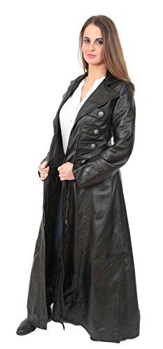 Goods Fashion Femme A1 Manteau Trench Noir 45P0Px7w
