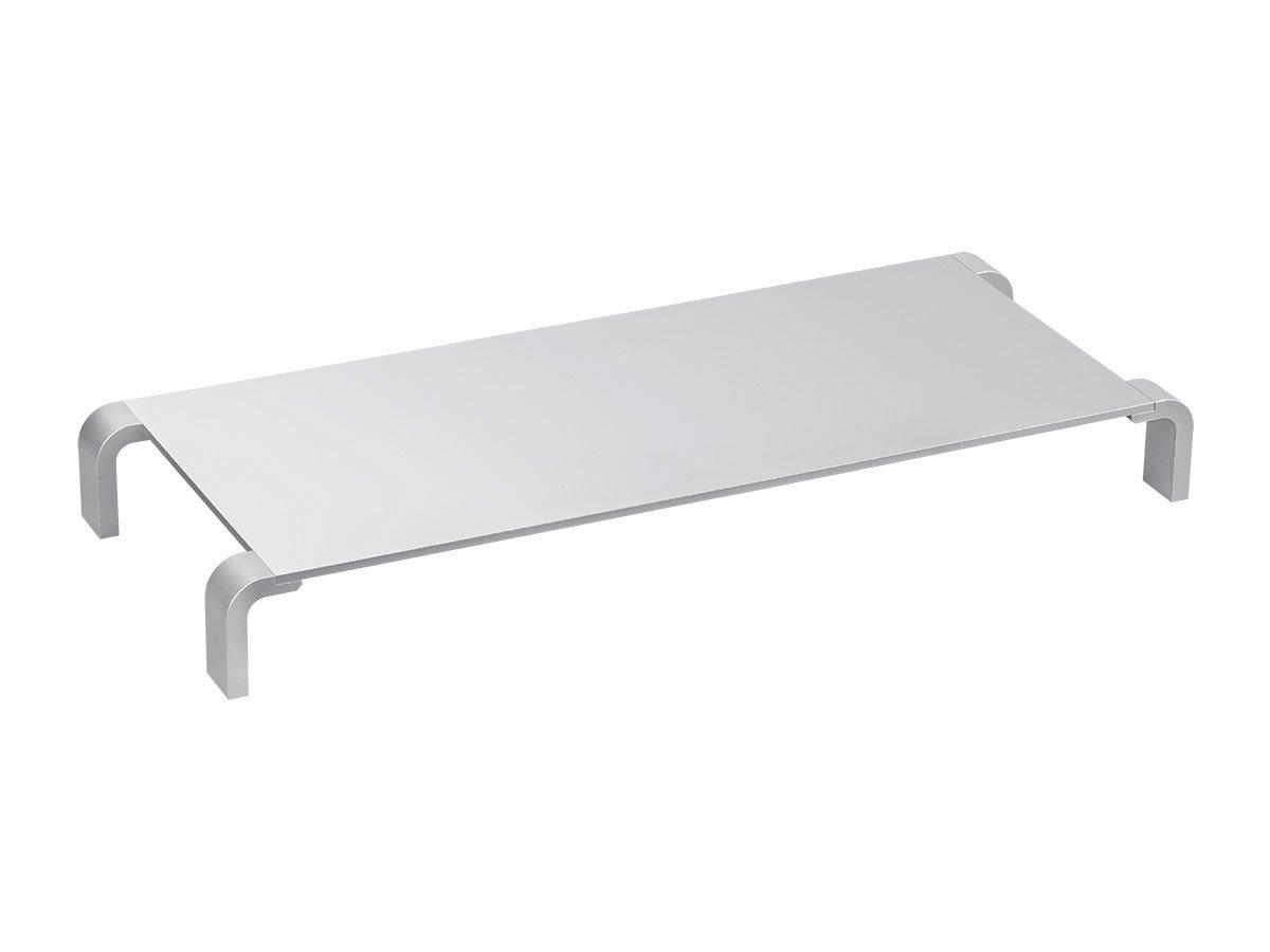 Monoprice 121776 Aluminum Monitor Riser, Multimedia Stand