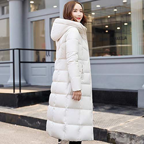 Slim In Ispessimento 4xl Cotone Size Winter Plug Casual amp; Wososyeyo Women Bianco Coat Invernale Giacca Size 0vqEwxHn