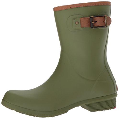 Chooka Women's Mid-Height Memory Foam Rain Boot, Olive, 9 M US by Chooka (Image #5)