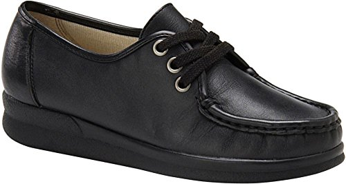 Leather Softspots Womens Black Annie Lo 0pfqIP