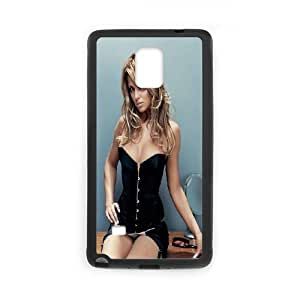 Samsung Galaxy Note 4 Cell Phone Case Black_Cheryl Cole Worqy