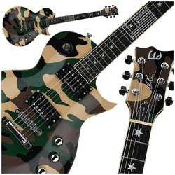 ESP LTD WA600 Will Adler Camo Eclipse Electric Guitar