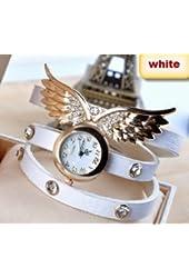 2014 new style fashion ladies watches wing rhinestone gold plated bracelet JEW SJA0846535262CO TYPE 7