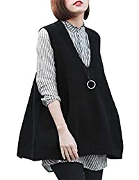 Women's Color Block Long Sleeve Tunic Tops Crew Neck Sweatshirt Pockets Loose Casual Blouse Shirts LST02