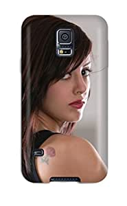 Matt C Brown Case Cover For Galaxy S5 - Retailer Packaging Autumn Riley Protective Case