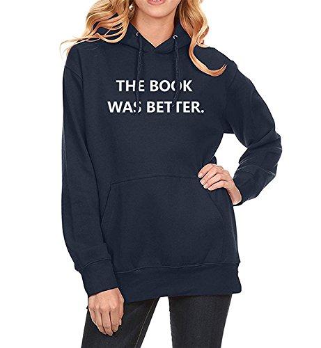 Leng Print Female Sweatshirt Hot Sale Hoody Winter Fleece Sportswear Tracksuit Harajuku Hoodies K-Pop Dark BlueX-Large