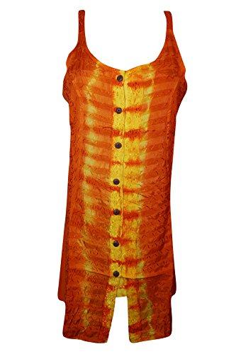 Mogul Interior - Vestido - Túnica - para mujer naranja