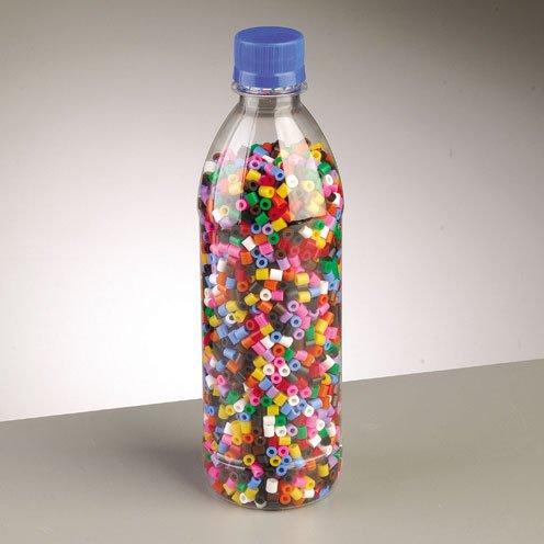 Nabbi fusión Abalorios Mixtos en Botella, plástico, 3500-piece-p, plástico, Transparente, 20 x 20 x 5 cm: Amazon.es: Hogar