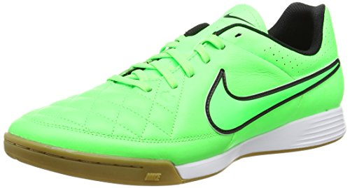 Nike Tiempo Genio Leather IC Mens Indoor-Competition Soccer Shoe (11.5)
