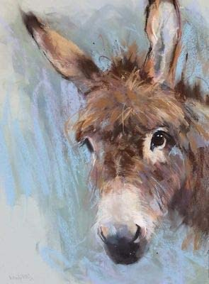 19.69x15.75 Donkeys  Geese  DIY Painting By Numbers PBN Wall Art Picture Paint By Numbers Unque Gift For Home Decor