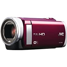 """JVC Everio GZ-EX210 Digital Camcorder - 3"""" - Touchscreen LCD - CMOS - Full HD - Red"""