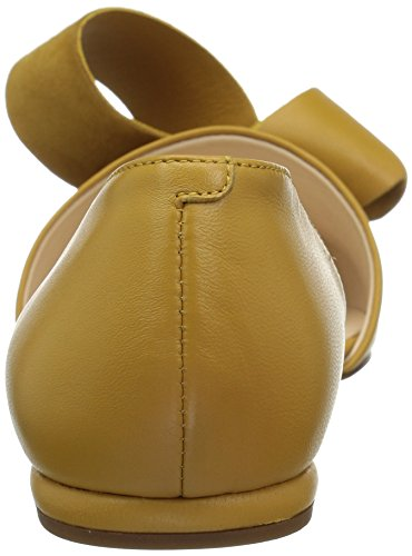 Pump Yellow Leather Women's West Shoreside Yellow Nine Leather q0XIvvw