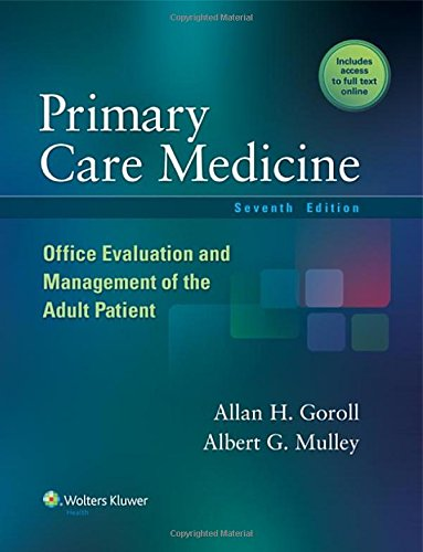 Pdf Medical Books Primary Care Medicine: Office Evaluation and Management of the Adult Patient