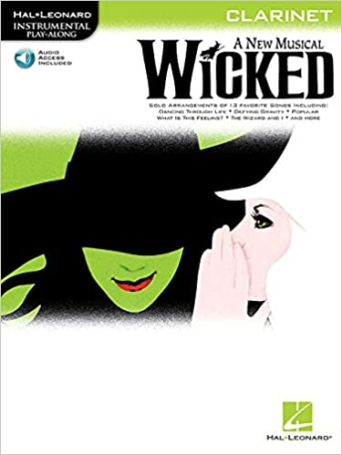 Instrumental Play-Along Wicked (Clarinet) Clt Book/Cd (Hal Leonard Instrumental Play-Along)