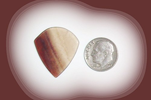 Petrified Wood JAZZ Style Guitar Pick - 1.6mm thick - Item# JZ18136